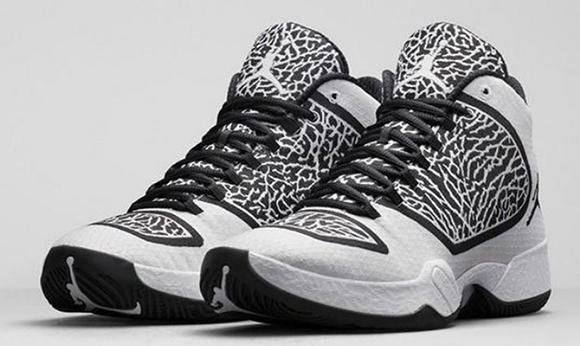 Air Jordan XX9 Black/White - Official Images