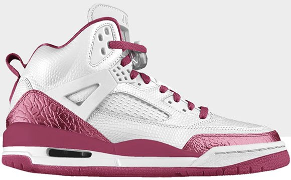 Big Lizard Leather Option Available Jordan Spizike from Nike iD