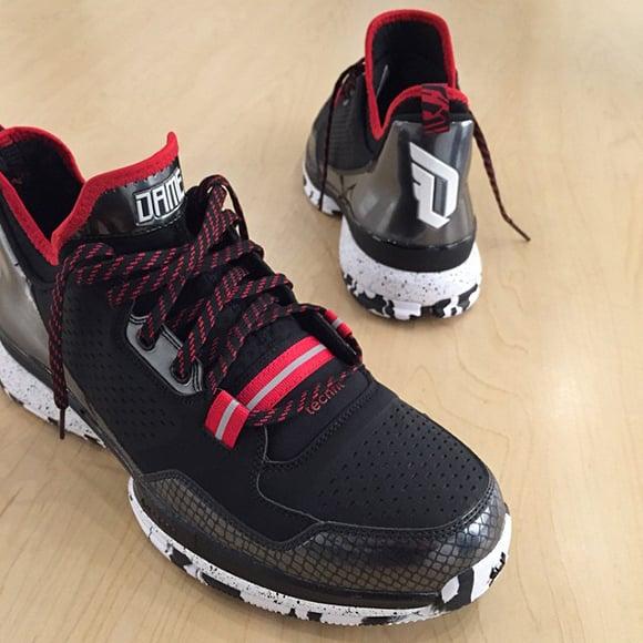 finest selection e8e15 d9bf3 Damian Lillard Shows new Signature Shoe  adidas DLillard 1