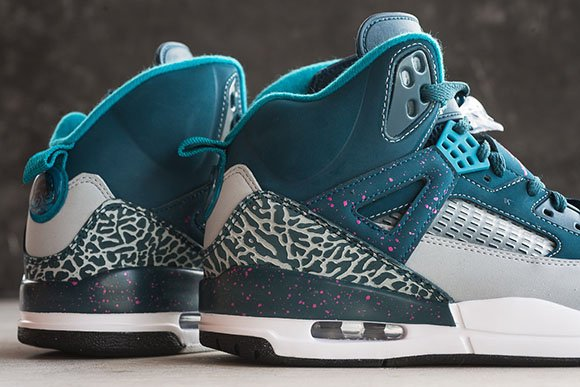 Jordan Spizike Space Blue - Detailed Look