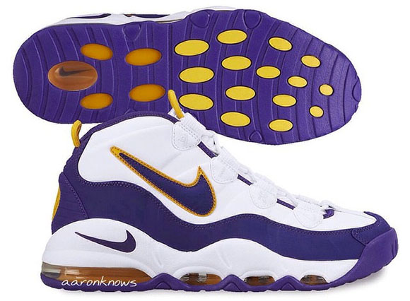 7b8a0b334a4 Lakers  Nike Air Max Tempo Retro