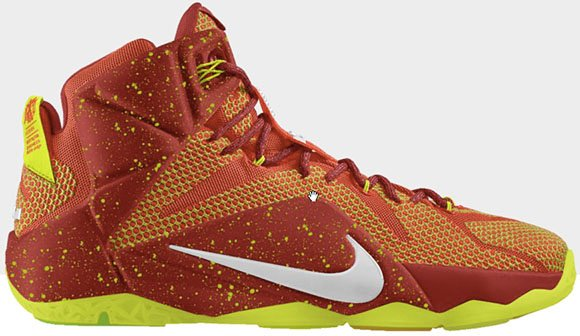 The LeBron 12 Now Available at Nike iD