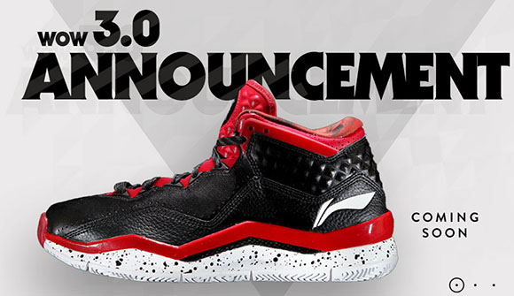 Li-Ning Way of Wade 3 Announcement