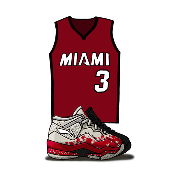 Li-Ning Way of Wade 3 Illustrated