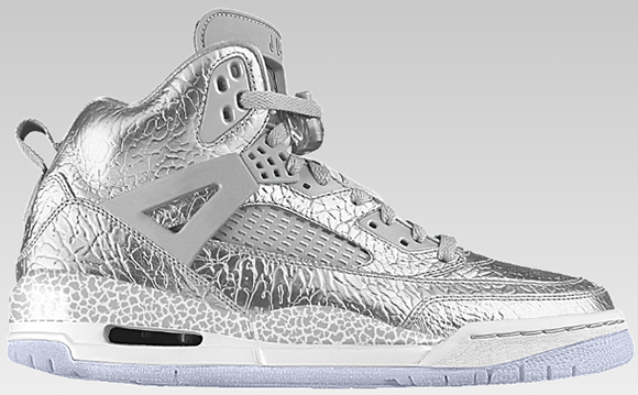 Liquid Metal Elephant Available on the Jordan Spizike from Nike iD