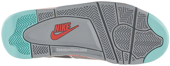 meet 22085 b6efb Nike Air Flight 89 Wolf Grey Cool Grey-Hyper Punch-Hyper Turquoise