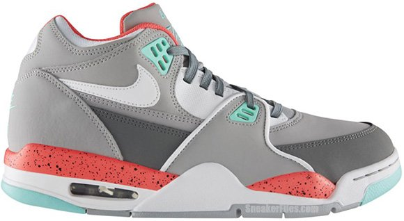 Nike Air Flight 89 Wolf Grey Hyper Turquoise (306252-023)