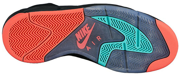 Nike Air Flight Lite Black/Punch-Jade Miami Dolphins