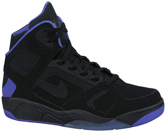 Nike Air Flight Lite Black/Purple