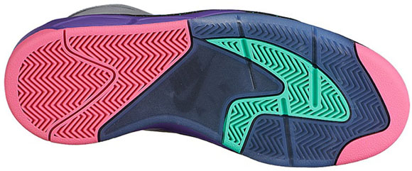 Nike Air Flight Lite Grey/Black-Purple
