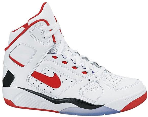 Nike Air Flight Lite White/Black-Red