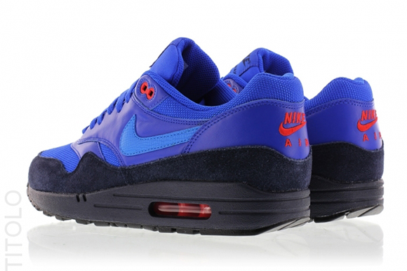 Nike Air Max 1 FB Obsidian/Light Photo Blue-Light Bone