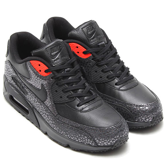 Nike Air Max 90 Deluxe Safari Black Infrared