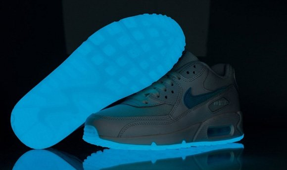 Nike Air Max 90 Glow in The Dark My Shoes Nike, Glow