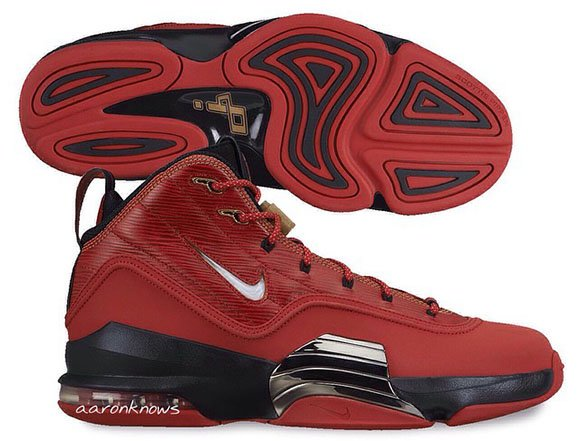 Nike Air Pippen 6 Red/Black