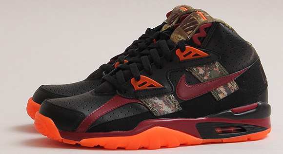 Nike Air Trainer SC High Digi Camo Black/Team Red-Hyper Crimson