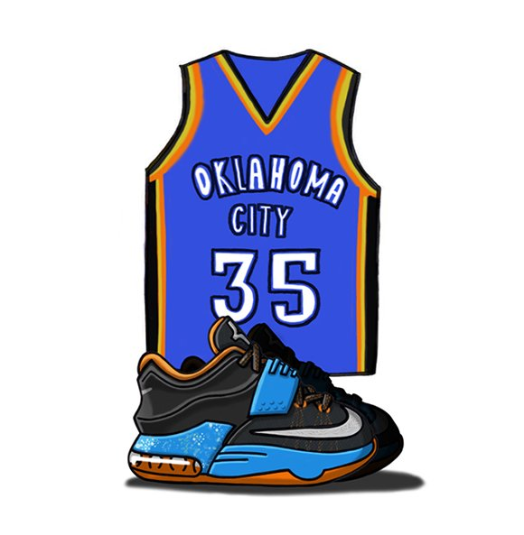 Nike KD 7 Illustrated