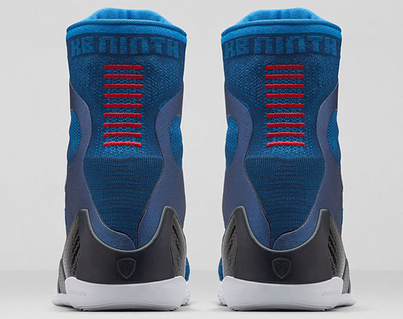 Nike Kobe 9 Elite Brave Blue aka Jerry Buss - Official Images