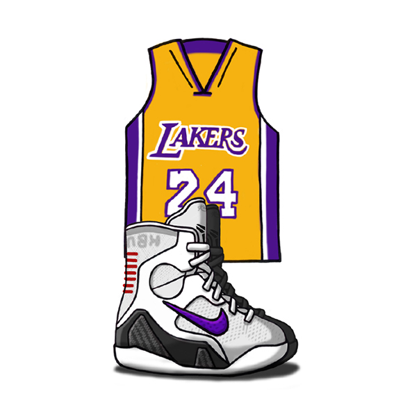 Nike Kobe 9 Elite Illustrated
