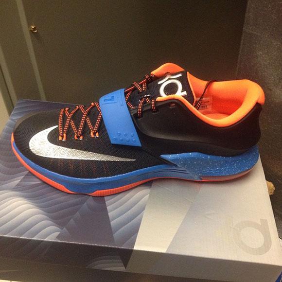 Release Date: Nike KD 7 OKC Thunder Away