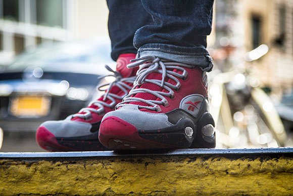 Release Date: Stash x Reebok Question Mid in Red