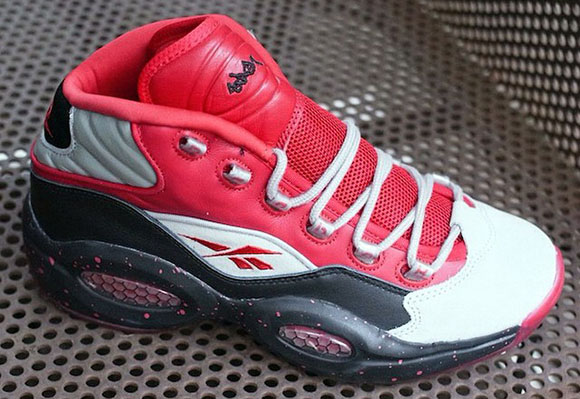 Stash x Reebok Question Red - Another Look