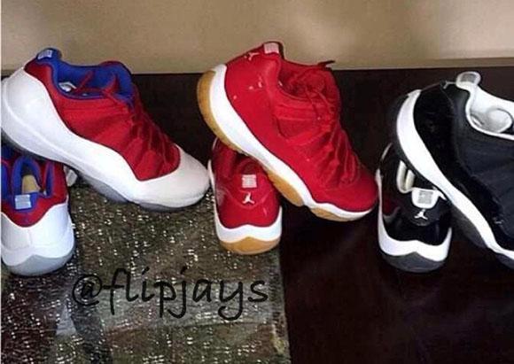 Three More Air Jordan 11 Low Samples