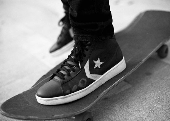 Trash Talk x Convers CONS Pro Leather Skate