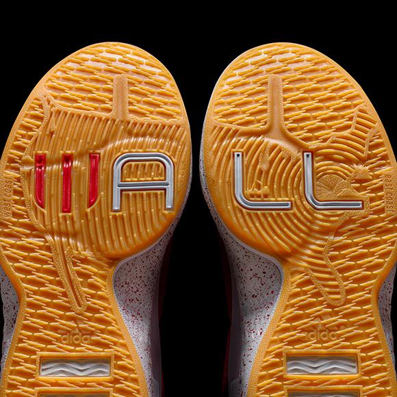Two adidas J Wall 1 Alternative Away Colorways