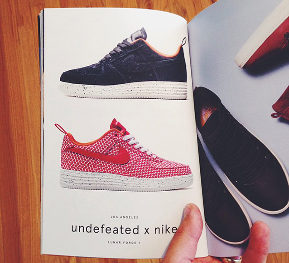 Undefeated x Nike Lunar Force 1s