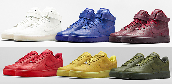 NikeLAB Air Force 1 Mid Jewel Swoosh Sail