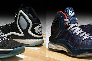 adidas D Rose 5 Boost Chicago Ice Woven Blues