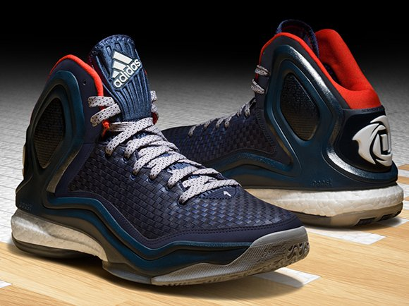 adidas D Rose 5 Boost Woven Blues