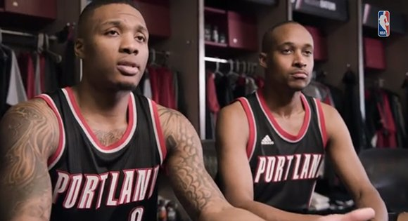 adidas NBA Swingman Jerseys Commercial Featuring Damian Lillard