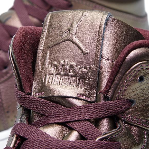 Air Jordan 1 Mid Nouveau Burgundy Gum
