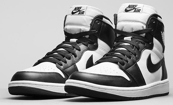 Air Jordan 1 Retro High OG Black/White - Official Images