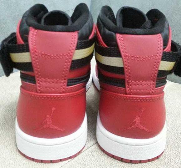 Air Jordan 1 Retro Strap Challenge Red/Black-White