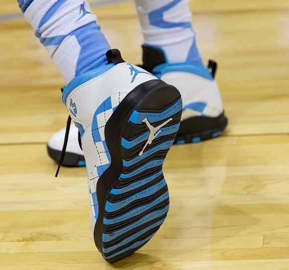 Air Jordan 10 Retro UNC Tar Heels PE