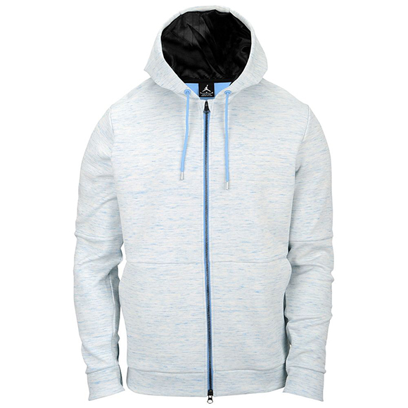 Jordan Retro 11 Legend Blue Pinnacle Fleece Hoodie