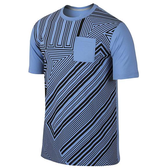 Jordan Retro 11 Legend Blue Pocket T-Shirt
