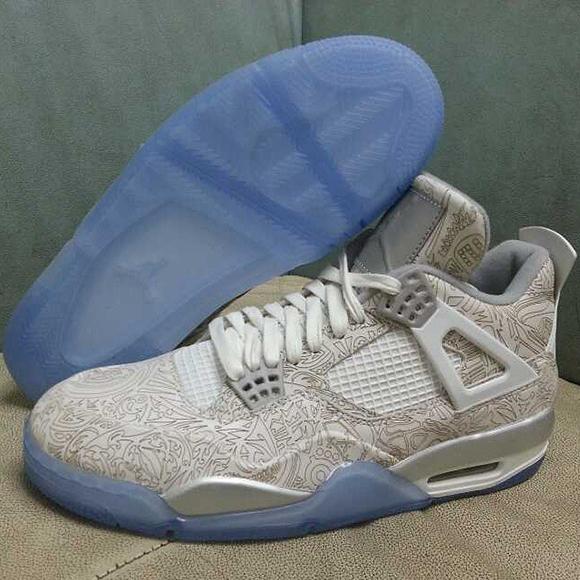 Air Jordan 4 Reflective Laser - 30th Anniversary
