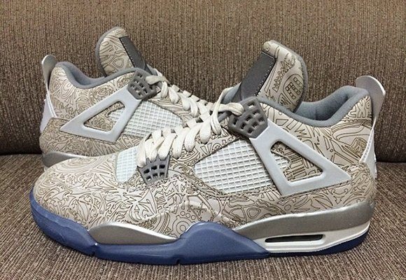 air jordan 4 retro 30th anniversary – reflective laser target