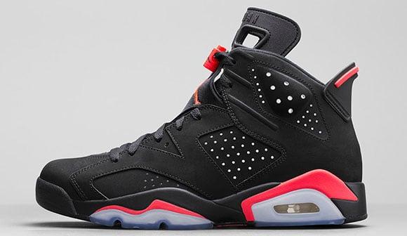 Air Jordan 6 Black/infrared 23