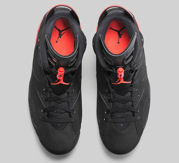 Air Jordan 6 Black/Infrared 23 - Official Images