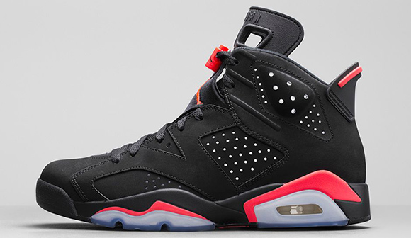 Air Jordan 6 Infrared Black Friday 2014