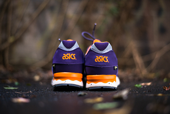 Asics Gel Lyte V Gore-Tex Purple Orange