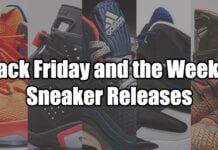 Black Friday and the Week of Sneaker Release Guide 2014