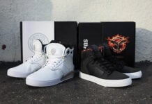 Hunger Games x Supra Vaider and Skytop IV