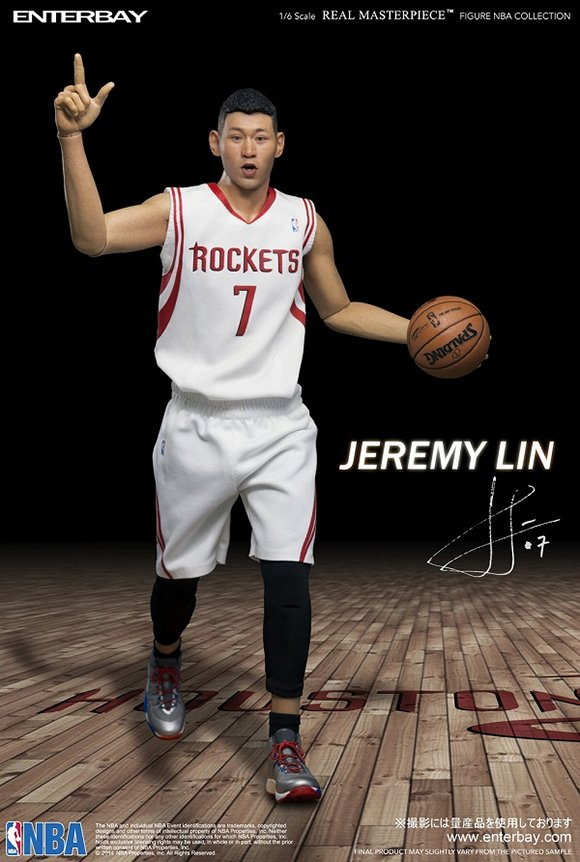 Jeremy Lin Enterbay Figure