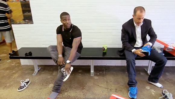 Jerry Seinfeld Kevin Hart Buy Nike Air Huaraches Together